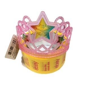 Other - Girls Pink Plastic Princess Tiara Headband Ages 3+